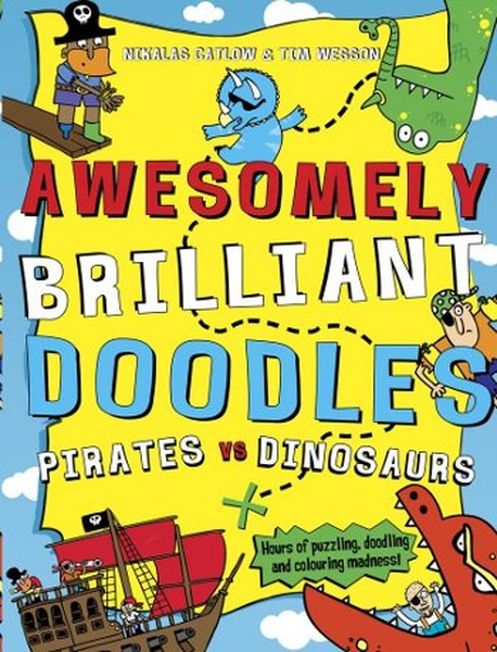 Pirates vs Dinosaurs (Awesomely Brilliant Doodles).pdf