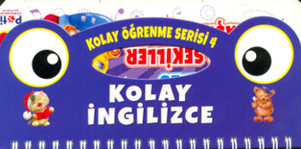 Kolay Öğenme Serisi 4 - Renkler, Şekiller, Taşıtlar.pdf