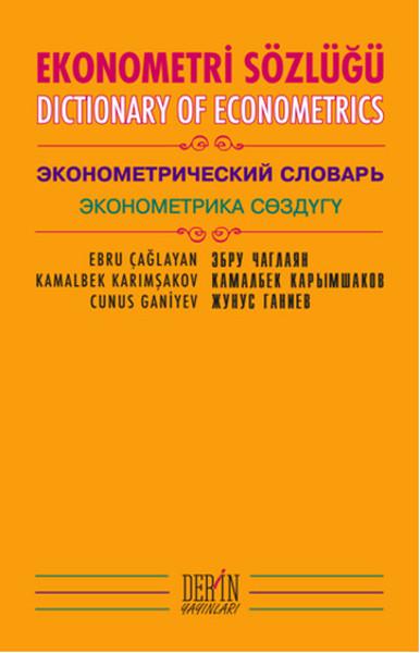Ekonometri Sözlüğü.pdf