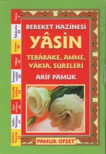 Bereket Hazinesi Yasin (Cep Boy) - (YAS-058/P7)
