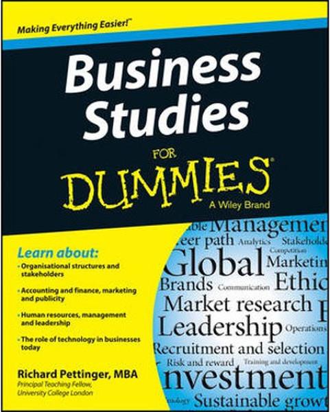 Business Studies For Dummies.pdf