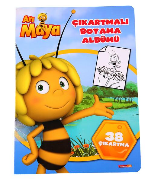 Arı Maya çıkartmalı Boyama Albümü Kitap Müzik Dvd çok Satan