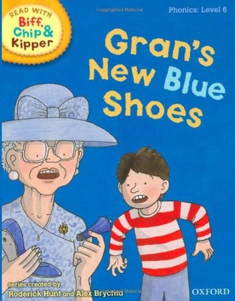 ORT Read With Biff, Chip and Kipper PHONICS Level 6 Grans New Blue Shoes.pdf
