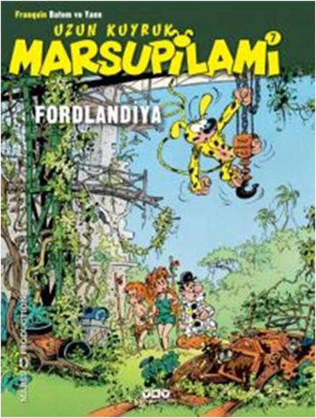 Uzun Kuyruk Marsupilami 7 Fordlandiya Kitap Müzik Dvd çok