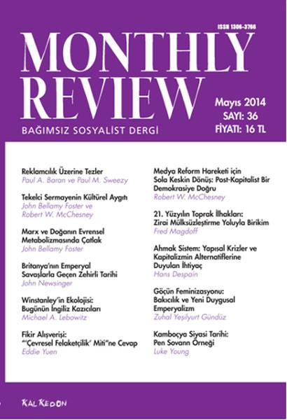 Monthly Review Türkçe - Bağımsız Sosyalist Dergi Sayı: 36.pdf
