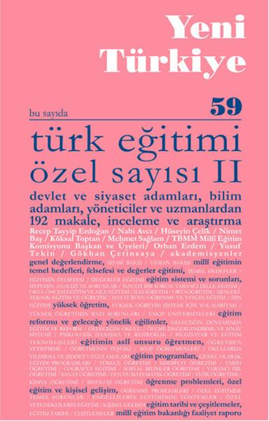 Yeni Türkiye Sayı: 59 - Türk Eğitimi Özel Sayısı 2.pdf