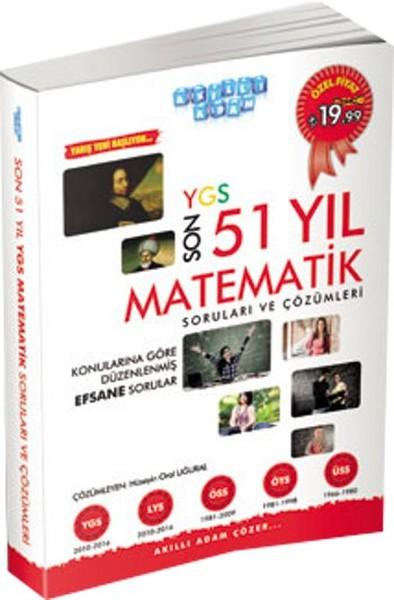 Akıllı Adam YGS Son 51 Yıl Matematik Soruları ve Çözümleri.pdf