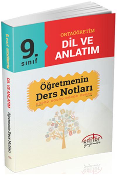 9.Sınıf Ortaöğretim Dil ve Anlatım Öğretmenin Ders Notları.pdf