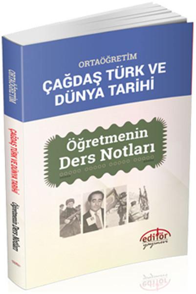 Ortaöğretim çağdaş Türk Ve Dünya Tarihi öğretmenin Ders Notları