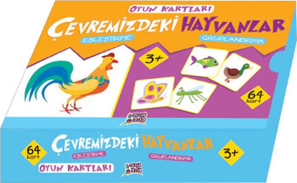 Oyun Kartları - Çevremizdeki Hayvanlar.pdf