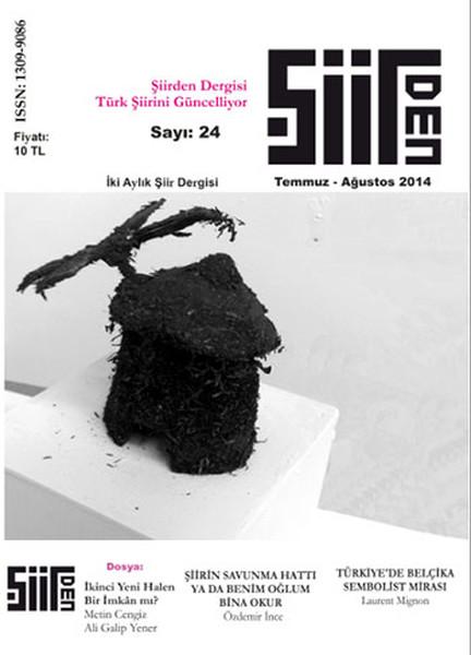 Şiirden İki Aylık Şiir Dergisi - Sayı: 24 - Temmuz-Ağustos.pdf