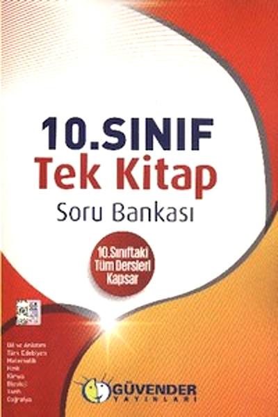 Güvender 10. Sınıf Tek Kitap Soru Bankası Tüm Dersler.pdf