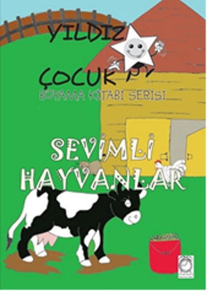 Yıldız çocuk Boyama Kitabı Serisi 4 Sevimli Hayvanlar Kolektif