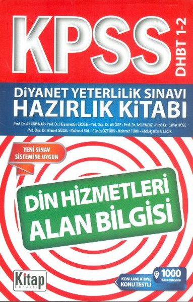 KPSS Diyanet Yeterlilik Sınavı Hazırlık Kitabı Din Hizmetleri Alan Bilgisi.pdf