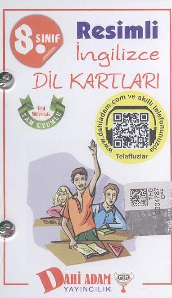 Dahi Adam 8. Sınıf Resimli İngilizce Dil Kartları.pdf
