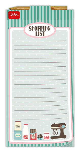 Legami Don`t Forget - Magnetic Note-Pad Shopping List