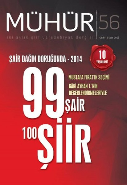 İki Aylık Şiir ve Edebiyat Dergisi Ocak - Şubat 2015 - Mühür Sayı: 56.pdf