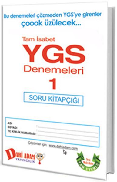 Dahi Adam 2015 YGS Tam İsabet Denemeleri 1.pdf