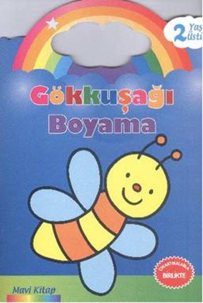Gökkuşağı Boyama Mavi Kitap - 2 Yaş Üstü.pdf