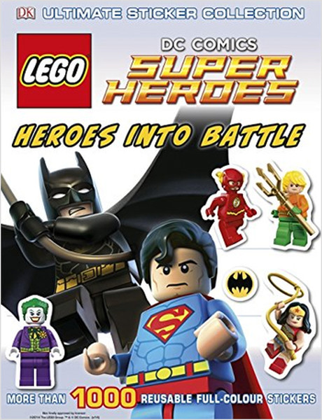 Lego DC Super Heroes Heroes Into Battle Ultimate Sticker Collection (Ultimate Stickers).pdf