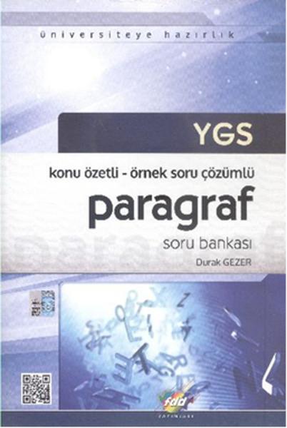 Fdd Ygs Paragraf Soru Bankası Konu özetli örnek Soru çözümlü