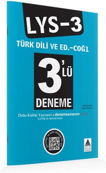 LYS 3 Türk Dili ve Edebiyatı - Coğrafya 1 - 3lü Deneme.pdf