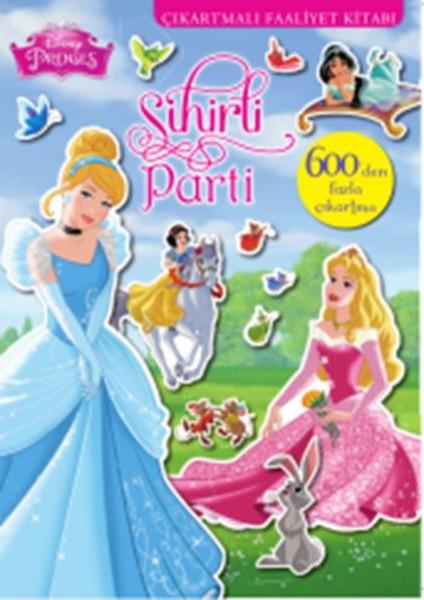 Disney Prenses Sihirli Parti 600 Çıkartmalı Faaliyet