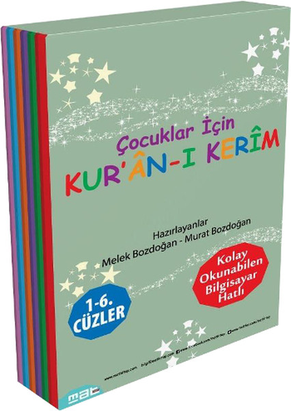 Çocuklar İçin Kuran-ı Kerim 1-6. Cüzler (6 Kitaplık Set).pdf