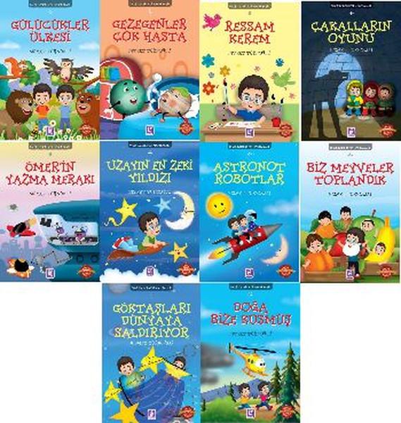 Ömer İle Keremin Maceraları - 10 Kitap Takım.pdf