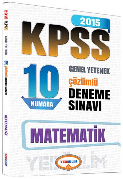 Yediiklim 2015 KPSS Matematik Çözümlü 10 Deneme.pdf