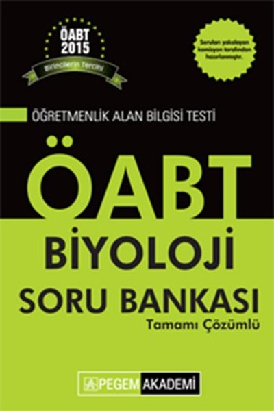 KPSS ÖABT Biyoloji Tamamı Çözümlü Soru Bankası 2015.pdf
