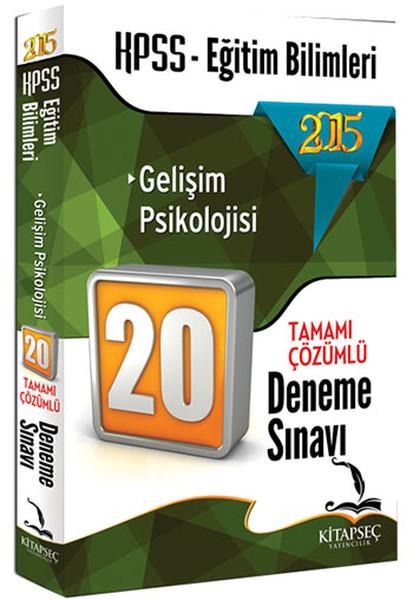 Kitapseç 2015 KPSS Eğitim Bilimleri Gelişim Psikolojisi 20 Deneme.pdf