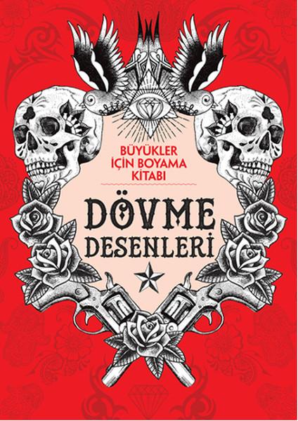 Büyükler İçin Boyama Kitabı - Dövme Desenleri.pdf