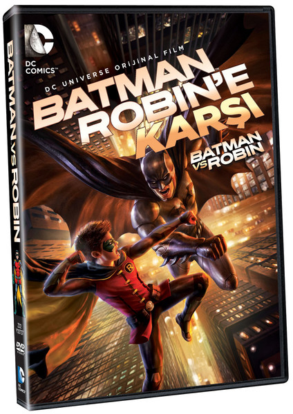 Batman Vs. Robin - Batman Robin`e Karsi