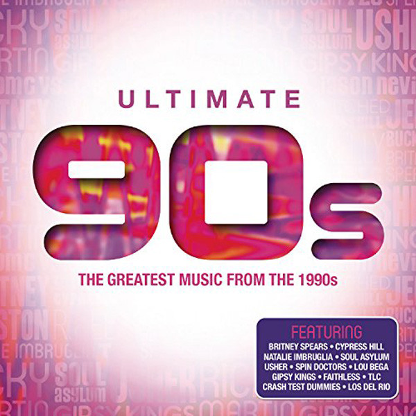 Ultimate 90`s - 4CD`s The Greatest Music From The 1990's