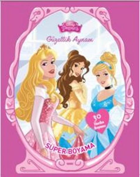 Disney Prenses Güzellik Aynam Süper Boyama.pdf