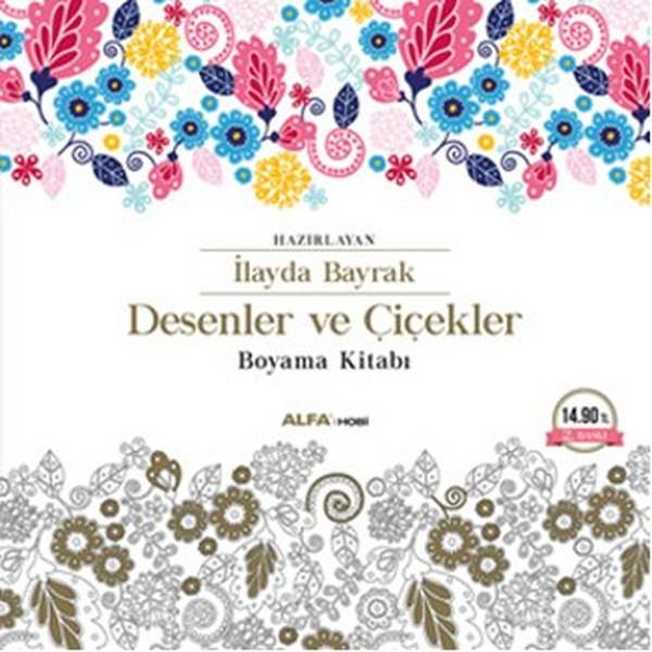 Desenler ve Çiçekler Boyama Kitabı.pdf
