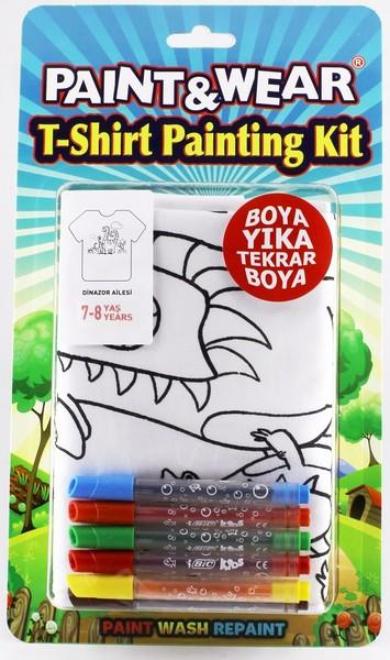 Paint Wear Dinazor T Shırt Boyama Seti 7 8 Fiyatı Hemen Satın Al