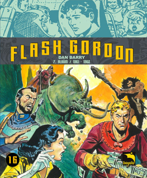 Flash Gordon Cilt 16