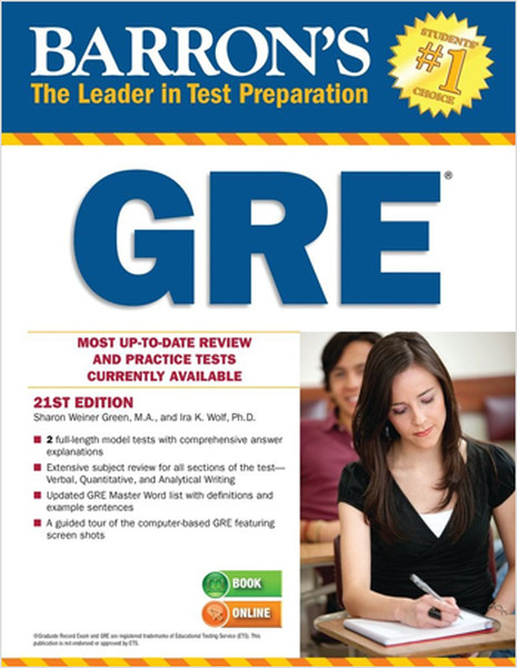 Barrons GRE, 21st Edition.pdf
