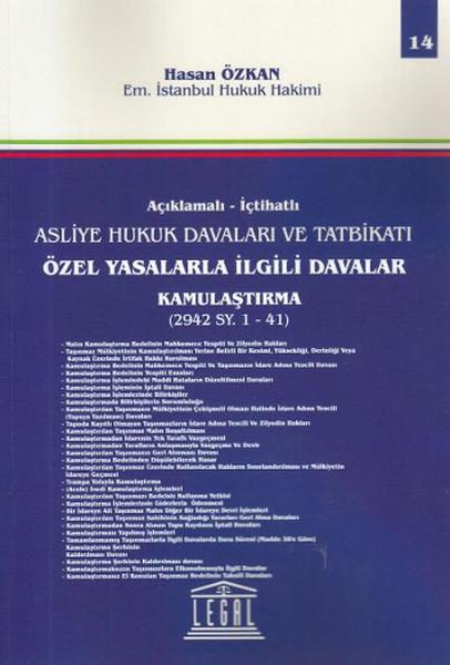 Özel Yasalarla İlgili Davalar Kamulaştırma - 14. Cilt.pdf