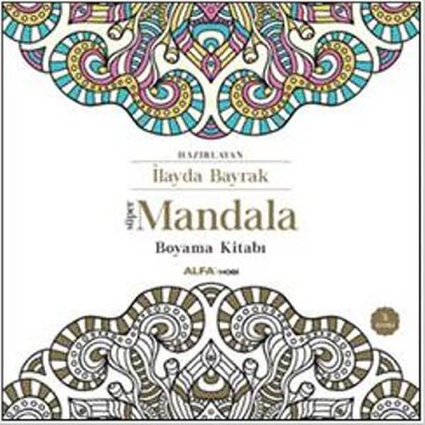 Süper Mandala Boyama Kitabı Kitap Müzik Dvd çok Satan Kitaplar