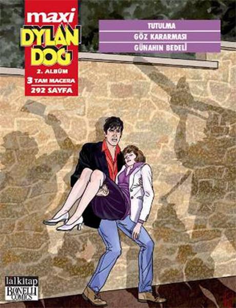 Dylan Dog Maxi 2. Albüm - Tutulma - Göz Kararması - Günahın Bedeli