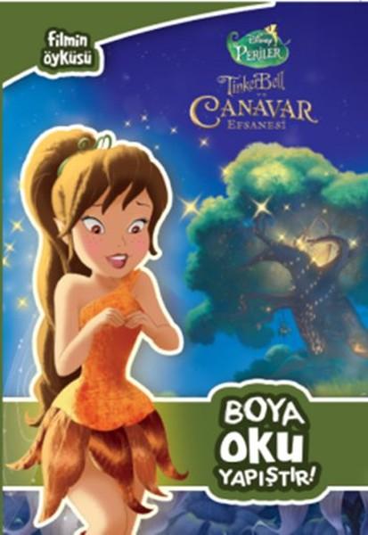 Disney Tinkerbell Filmin öyküsü Boya Oku Yapıştır Kolektif