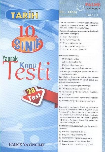 Tarih Yaprak Test 10. Sınıf.pdf