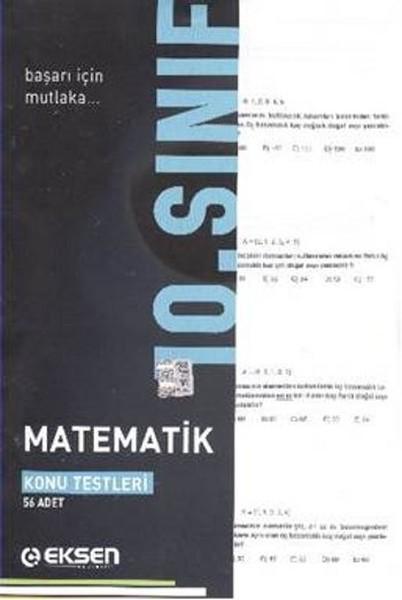 Eksen 10. Sınıf Matematik Yaprak Testler.pdf