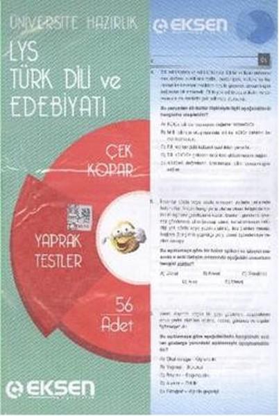 Eksen LYS Türk Edebiyatı Yaprak Testler.pdf