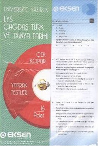 Eksen LYS Tarih Çağdaş Türk ve Dünya Tarihi Yaprak Testler.pdf