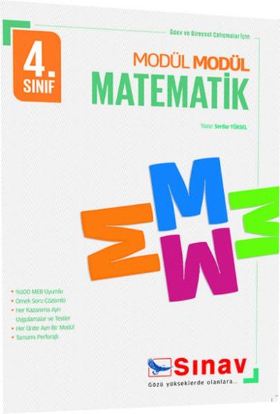 Sınav 4. Sınıf Modül Modül Matematik.pdf