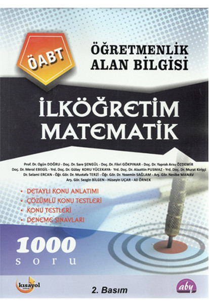 Kısayol ÖABT Öğretmenlik Alan Bilgisi İlköğretim Matematik.pdf